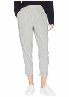 Eileen Fisher Organic Cotton Speckled Knit Slouchy Ankle Pants