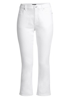 Eileen Fisher Organic Cotton Stretch Crop Jeans