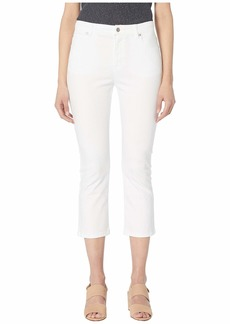 Eileen Fisher Organic Cotton Stretch Denim Slim Cropped Jean