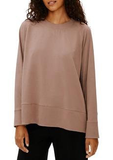 Eileen Fisher Organic Cotton Stretch Pullover
