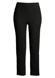 Eileen Fisher Organic Cotton Tapered Pants