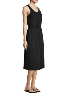 Eileen Fisher Organic Cotton Twill Pull-On Dress