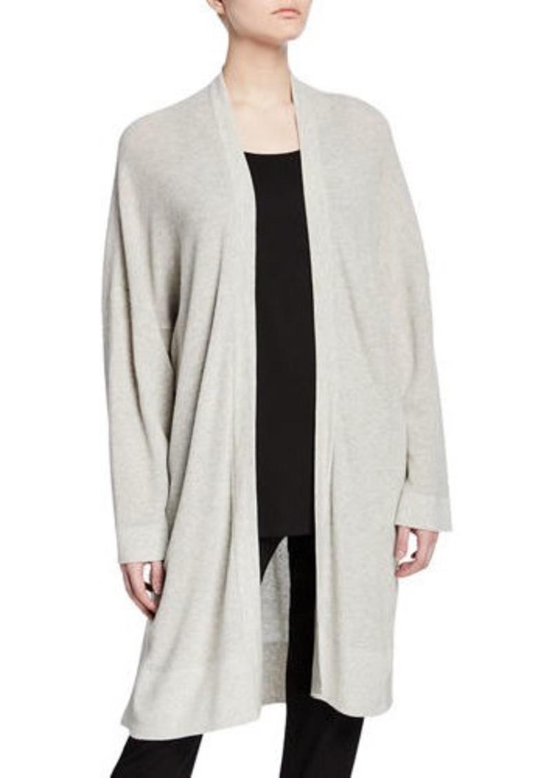 Eileen Fisher Organic Cotton/Silk Long Cardigan