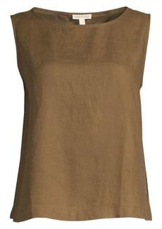 Eileen Fisher Organic Handkerchief Linen Top