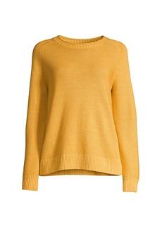 Eileen Fisher Organic Knit Crewneck Sweater