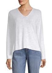 Eileen Fisher Organic Linen & Cotton Top