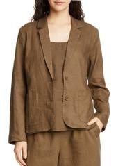 Eileen Fisher Organic Linen Blazer