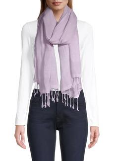 Eileen Fisher Organic Linen-Blend Scarf