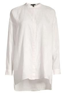 Eileen Fisher Organic Linen Blouse