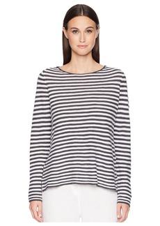 Eileen Fisher Organic Linen Cotton Stripe Top