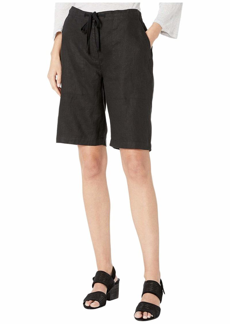 Eileen Fisher Organic Linen Drawstring Shorts
