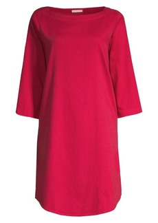 Eileen Fisher Organic Twill Tunic Dress