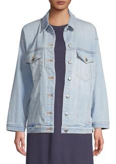 Eileen Fisher Oversize Jean Jacket