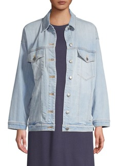 Eileen Fisher Oversize Jean Jacket