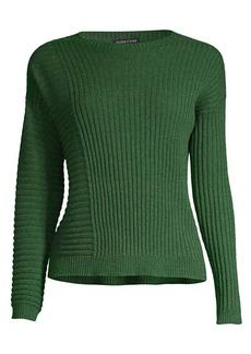 Eileen Fisher Patchwork Cashmere Sweater
