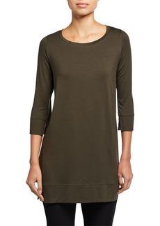 Eileen Fisher Petite Fine Jersey 3/4-Sleeve Tunic