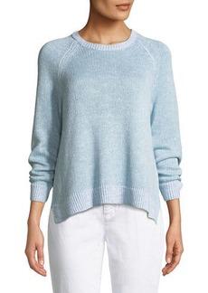 Eileen Fisher Petite Organic Linen/Cotton Slub Sweater