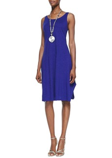 Eileen Fisher Petite Scoop-Neck Sleeveless Dress
