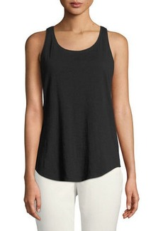 Eileen Fisher Petite Slub Organic Cotton Tank Top