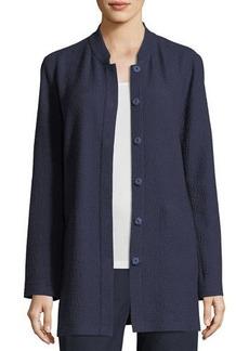 Eileen Fisher Petite Textural Cotton Stretch Jacket