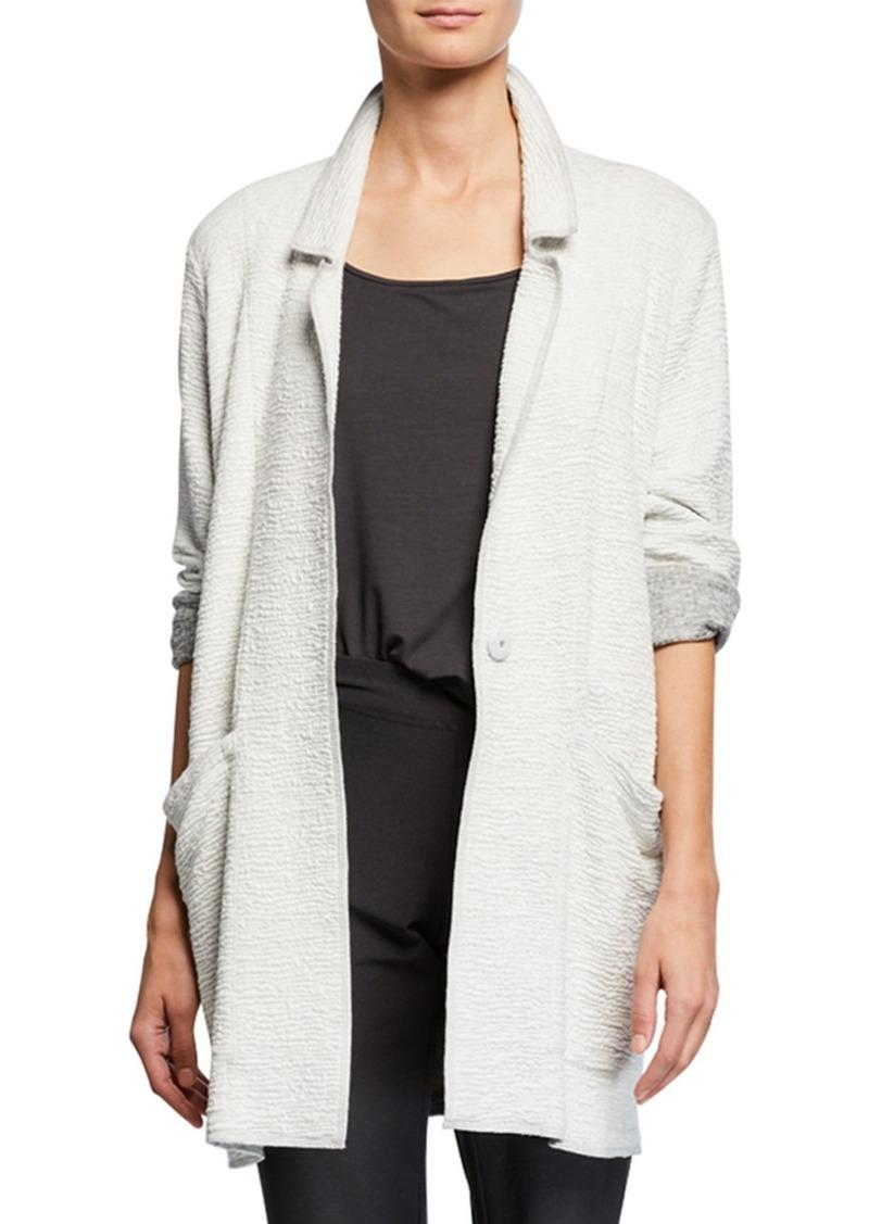 Eileen Fisher Petite Textured Boxy Jacket