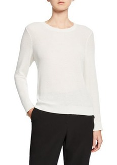 Eileen Fisher Petite Textured Crewneck Sweater