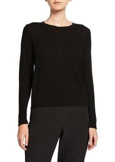 Eileen Fisher Petite Textured Crewneck Sweater