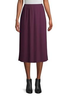 Eileen Fisher Pleated Midi Skirt