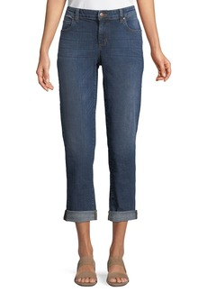 Eileen Fisher Plus Size Stretch Boyfriend Jeans