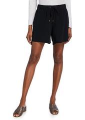 Eileen Fisher Plus Size Tencel/Viscose Crepe Walking Shorts