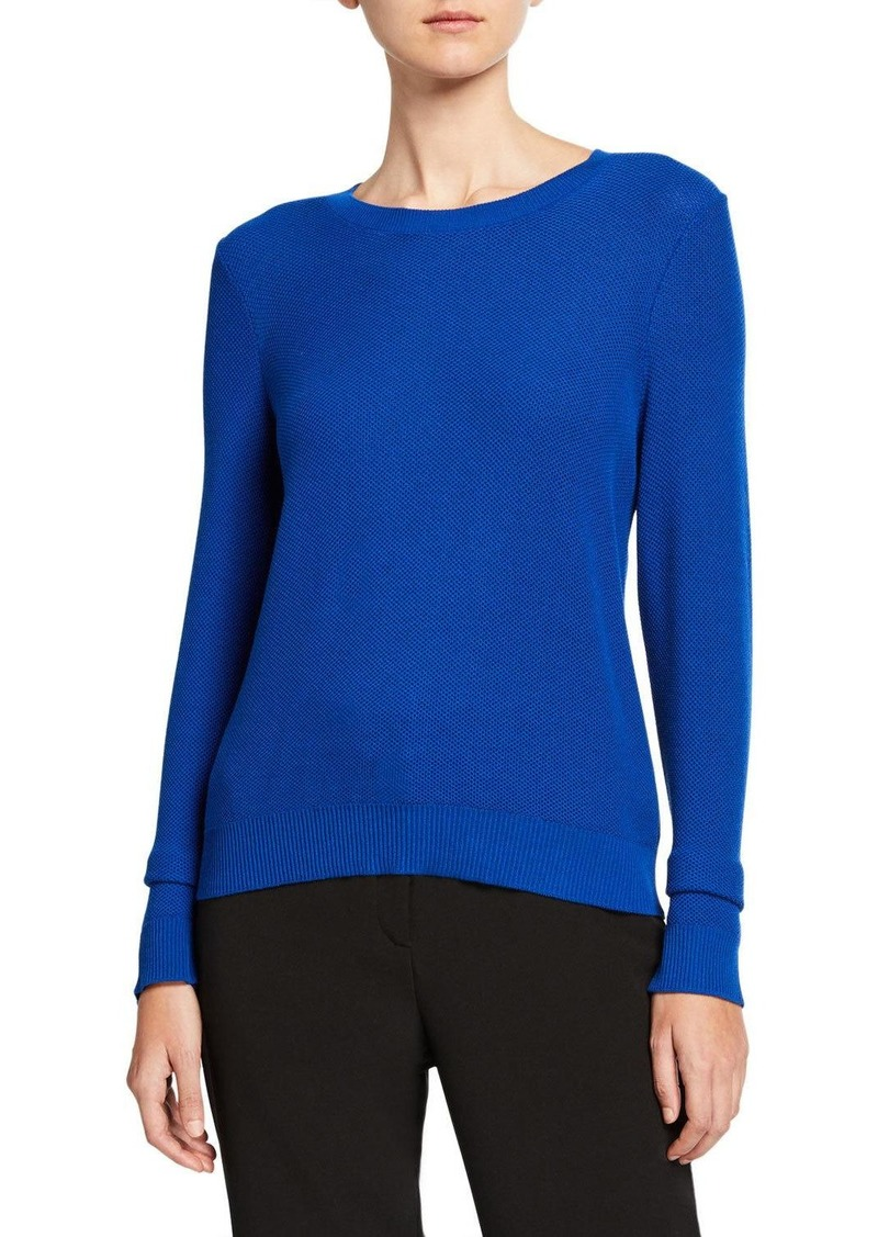 Eileen Fisher Plus Size Textured Crewneck Sweater