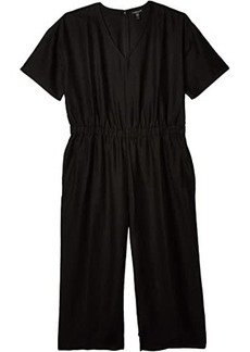 Eileen Fisher Plus Size V-Neck Jumpsuit