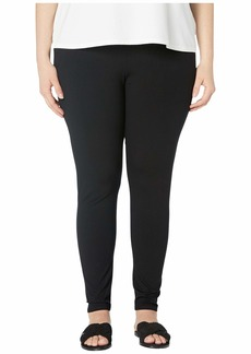 Eileen Fisher Plus Size Viscose Jersey Ankle Leggings