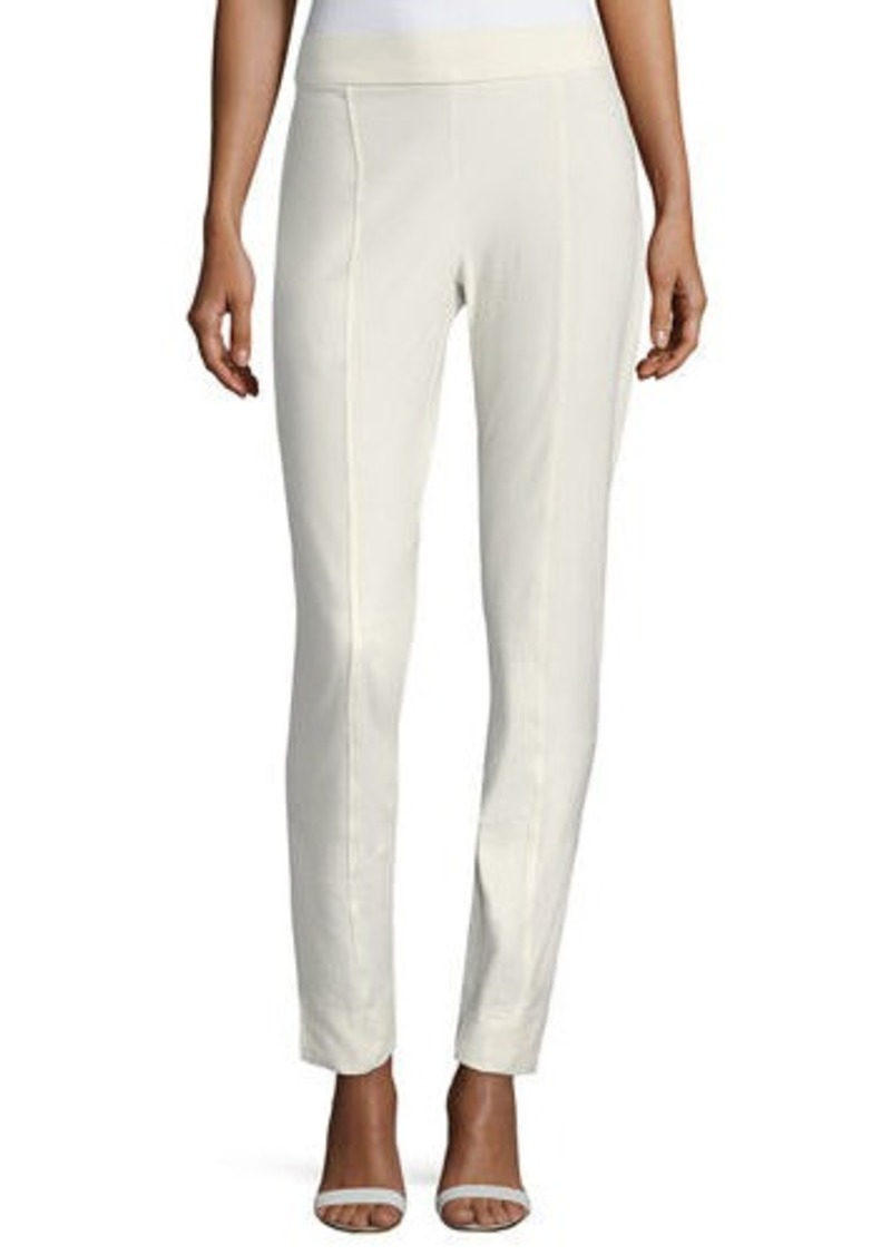 Eileen Fisher Plus Size Washable Crepe Slim-Leg Pants