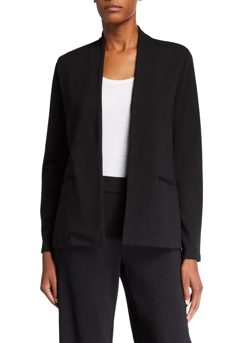 Eileen Fisher Ponte Simple Jacket