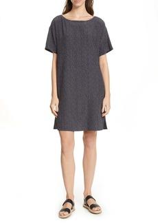 Eileen Fisher Print Shift Dress