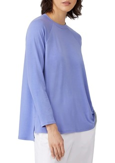 Eileen Fisher Raglan Long-Sleeve T-Shirt
