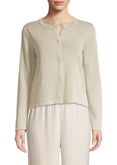 Eileen Fisher Recycled Cotton Cardigan