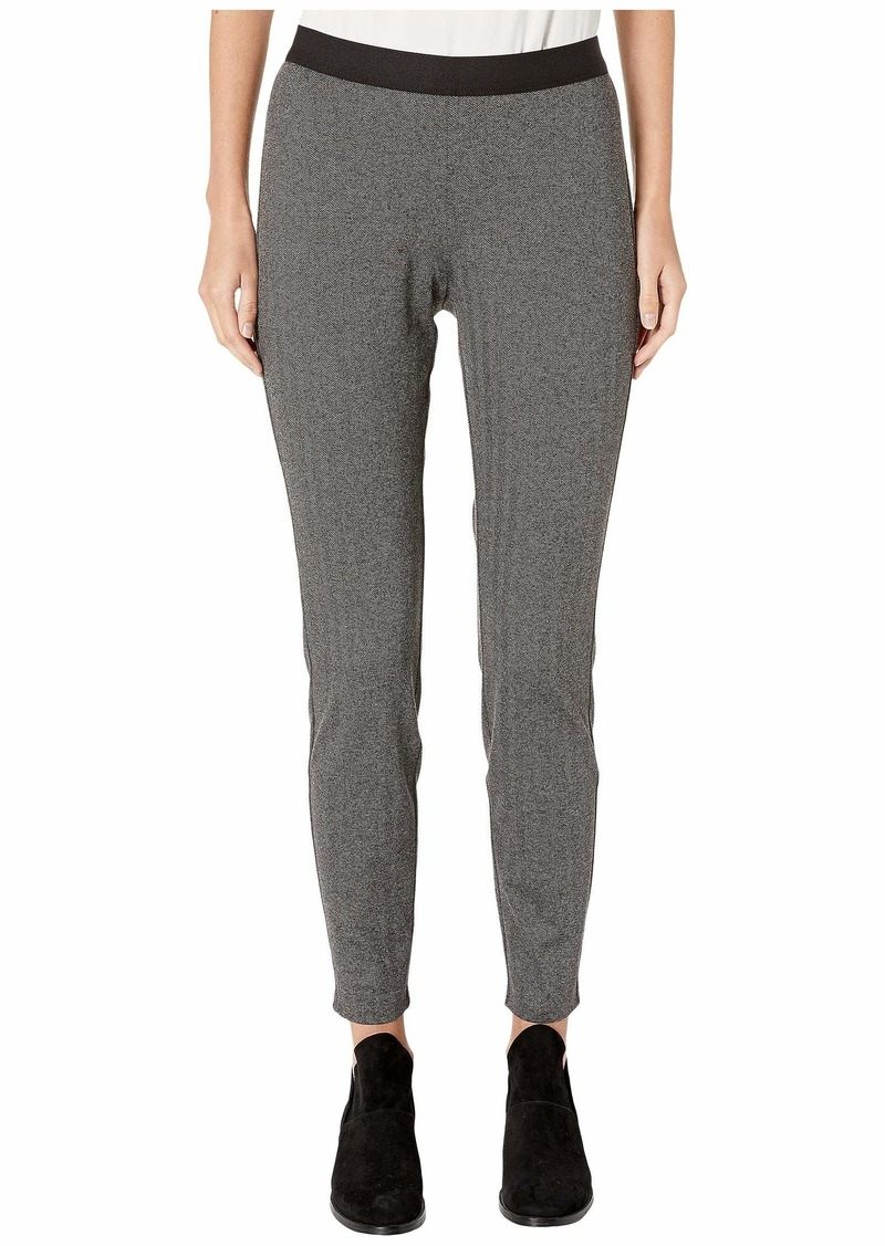 Eileen Fisher Recycled Polyester Herringbone Leggings