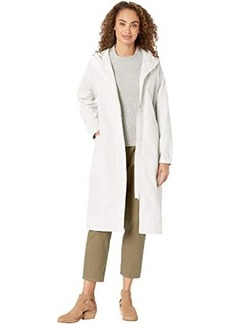 Eileen Fisher Recycled Polyester Hooded Coat