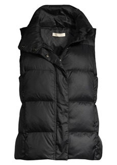 Eileen Fisher Recycled Polyester Quilted Puff Vest