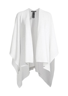 Eileen Fisher Ribbed Cape Cardigan