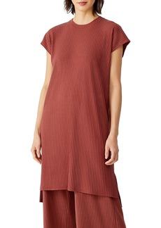 Eileen Fisher Ribbed Crewneck Dress