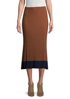 Eileen Fisher Ribbed Midi Skirt