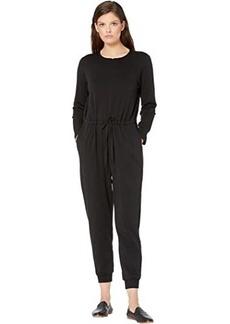Eileen Fisher Round Neck Ankle Jumpsuit