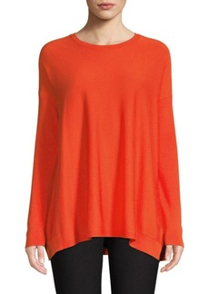 Eileen Fisher Roundneck Box Sweater