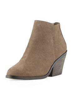 Eileen Fisher Rove Nubuck Block-Heel Booties
