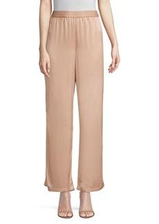 Eileen Fisher Sandwashed Silk Pants