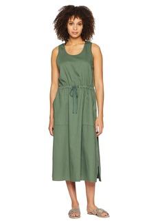 Eileen Fisher Scoop Neck C/L Dress