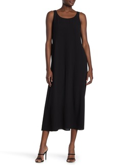 Eileen Fisher Scoop Neck Sleeveless Dress